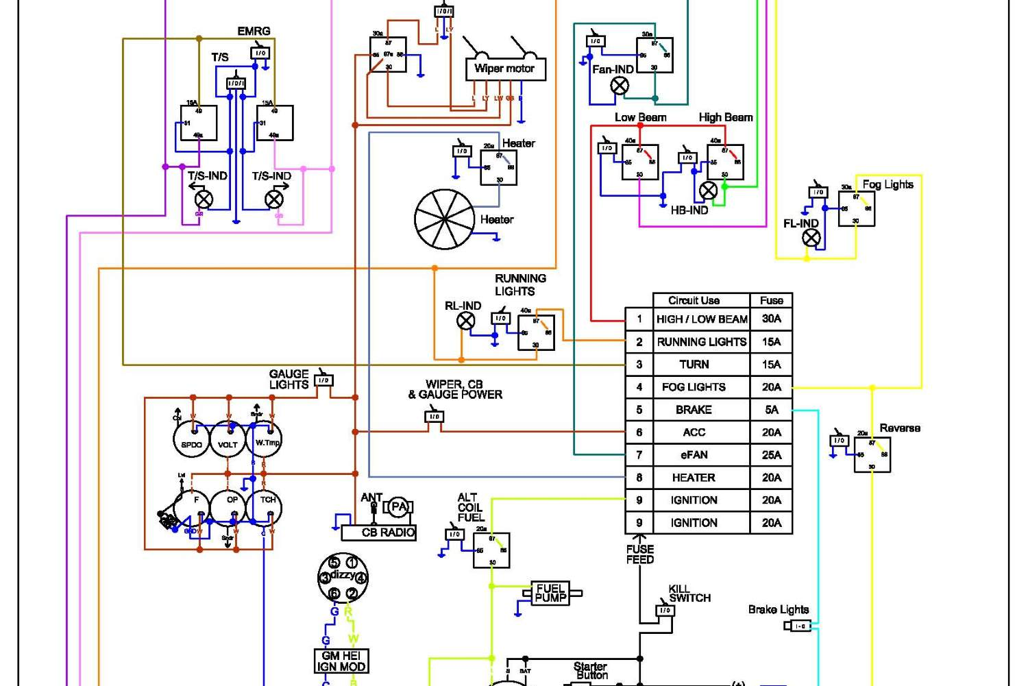 Basic Wiring Diagram Fuel Gauge - Wiring Diagram Schema