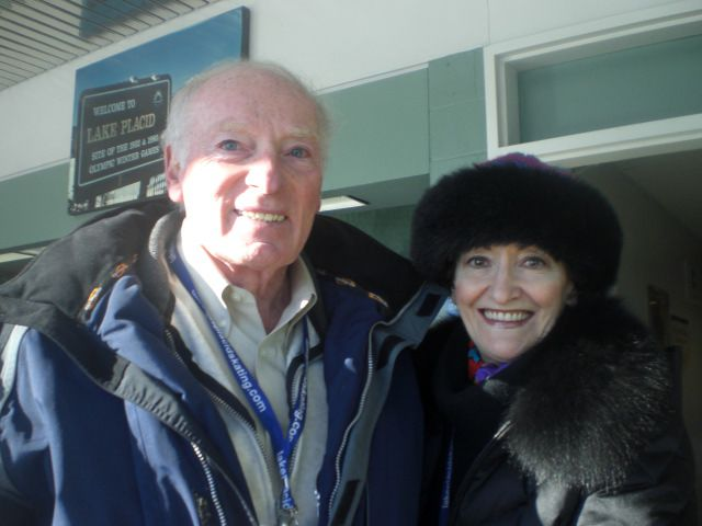 Figure Skating Coaching Legend Ron Ludington With World and Olympic Coach Doreen Denny