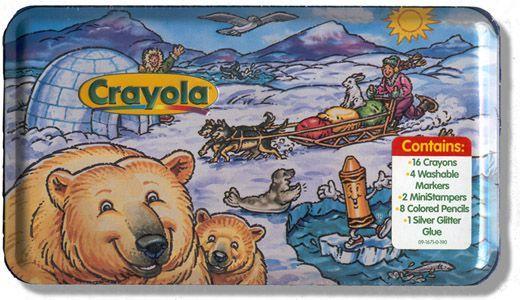 Crayola Arctic Tin - 1998