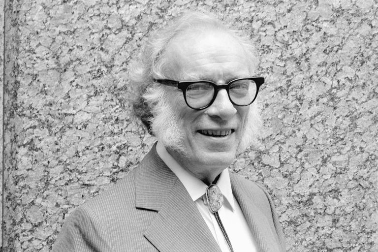 Sci-fi Author Isaac Asimov