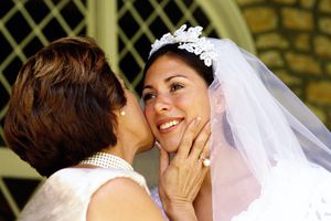 Godmother and bride
