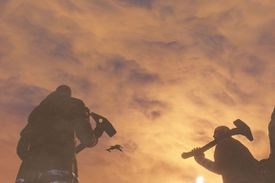 Characters from Red Faction Guerilla in sillhouette