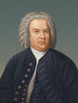 composer Johann Sebastian Bach