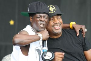 Flavor Flav and Chuck D. of Public Enemy