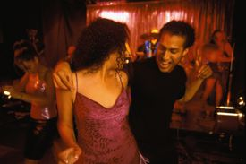Dancing at a Latin Night Club