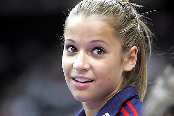 Alicia Sacramone at the 2005 American Cup