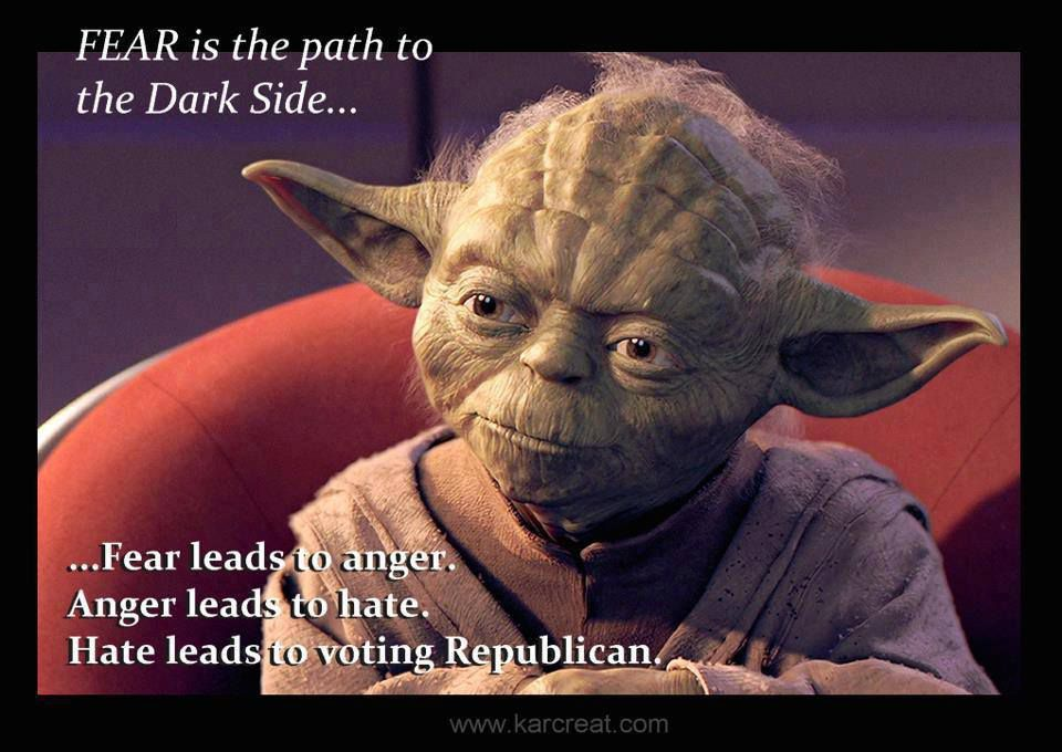 Yoda Fear Leads to Hate Meme