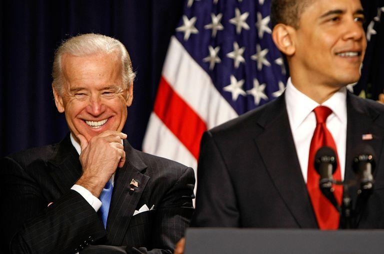 Joe Biden and President Barack Obama