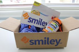 A box of Centrum vitamins from Smiley360.