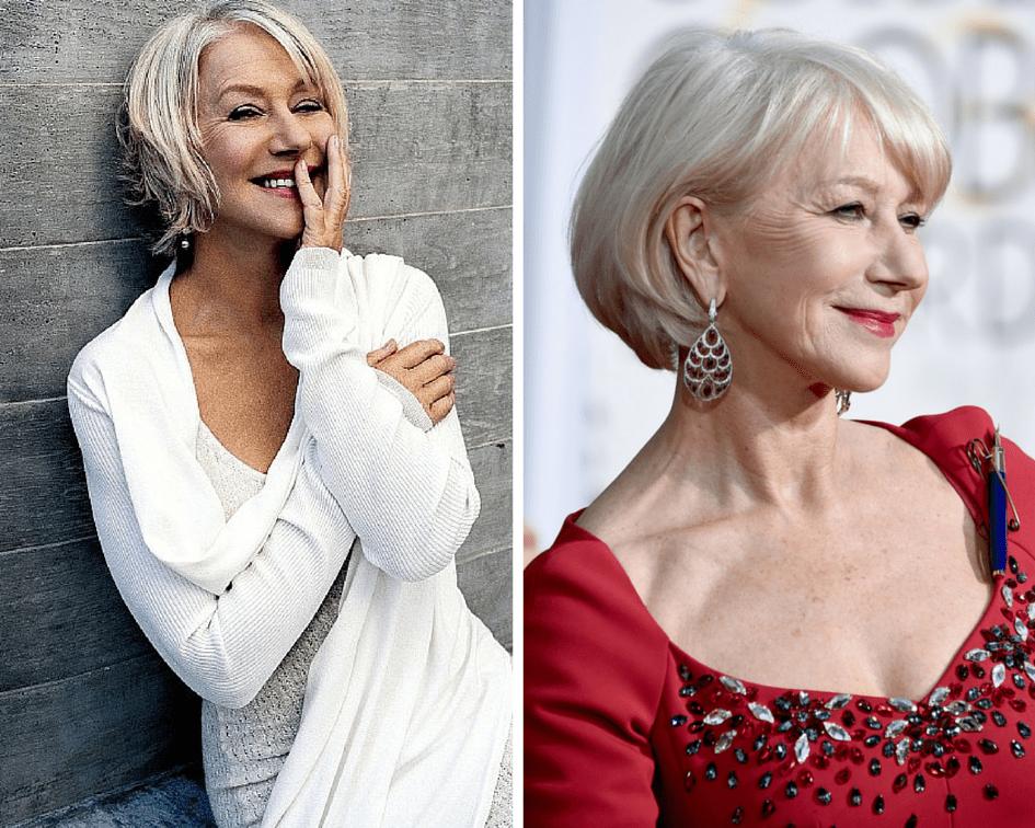18 Flattering Bob Hairstyles On Older Women