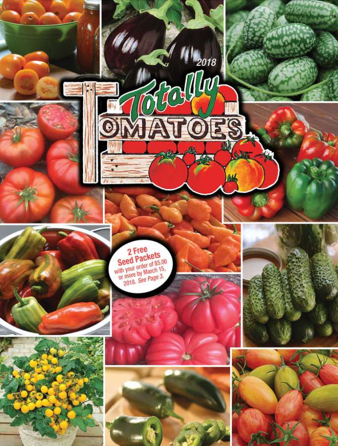 The Totally Tomatoes 2018 seed catalog
