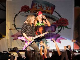 Poison on stage