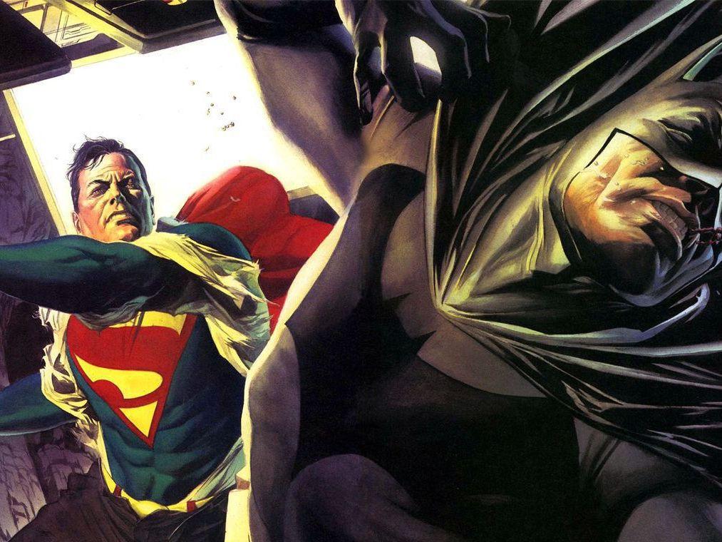 Top 9 Times Superman Beat Up Batman