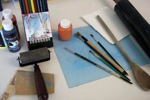 How to Make a Monotype Print