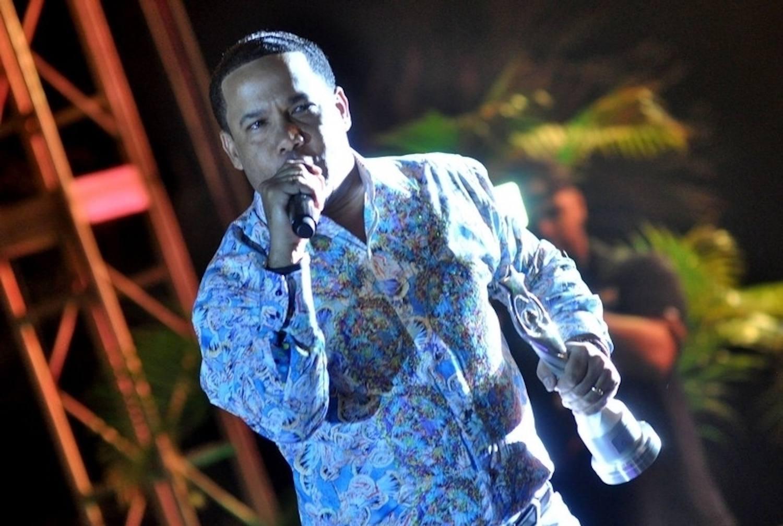 """Hector Acosta """"El Torito"""", cantante dominicano."""