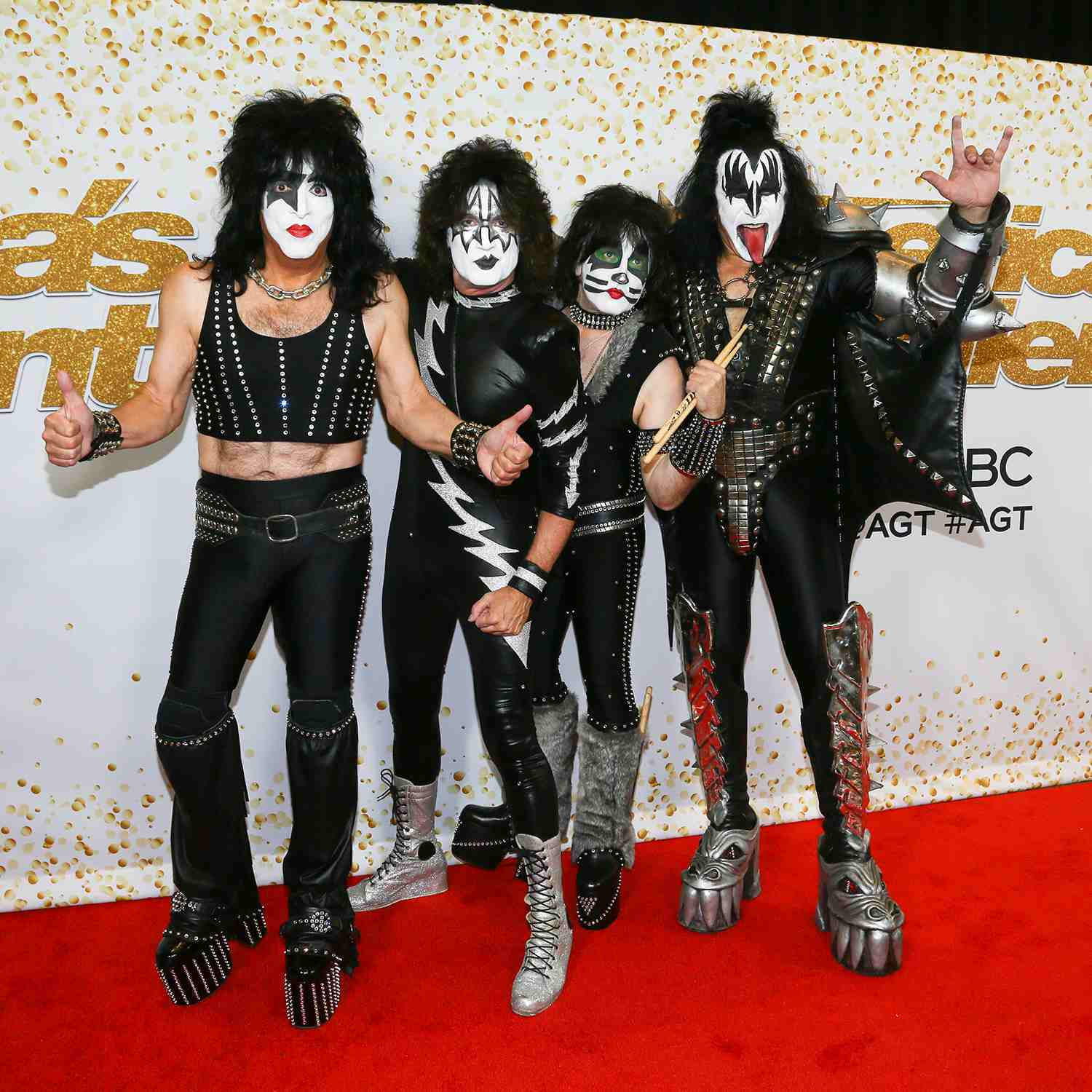 Paul Stanley, Tommy Thayer, Eric Singer and Gene Simmons of Kiss