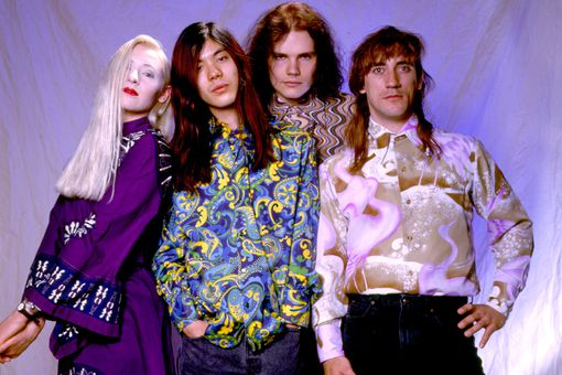 Smashing pumpkins band photo