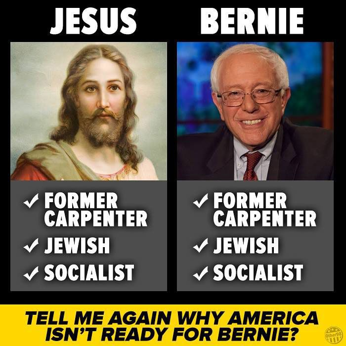 Bernie vs. Jesus