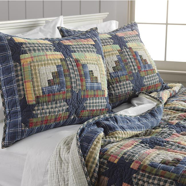A bed set sold by Orvis