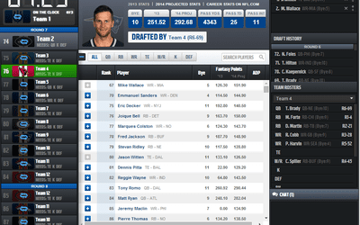 Top 7 Fantasy Football Apps for Drafting on iPhones, iPads