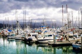 Santa Barbara harbor