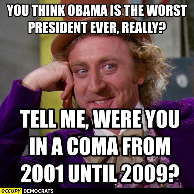 Think Obama Is The Worst Preident Ever