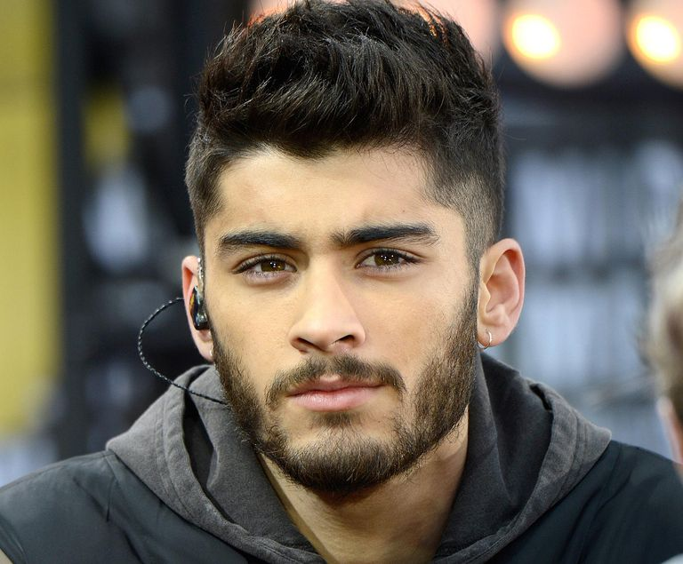 Zayn Maliks Changing Hair From Shaggy To Shaved