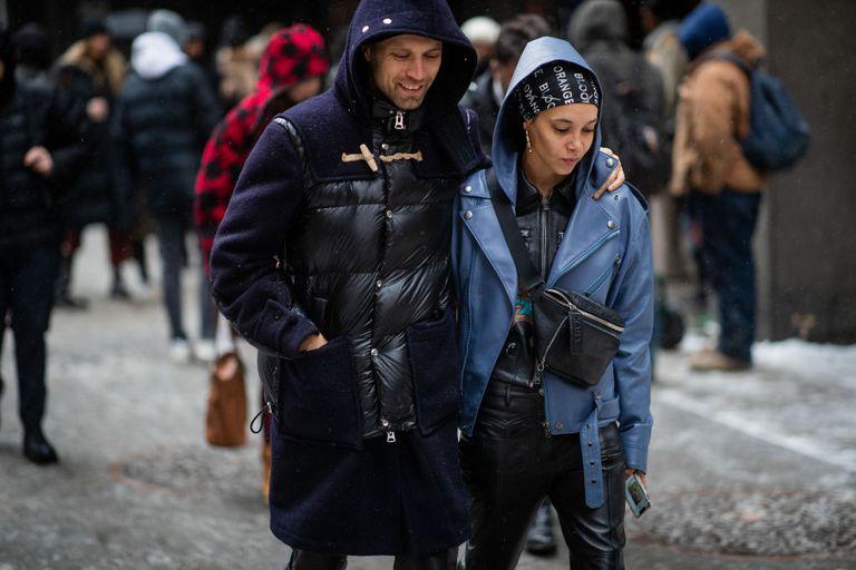 Fashion Week Couple