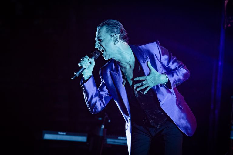 Depeche Mode Performs At AccorHotels Arena In Paris