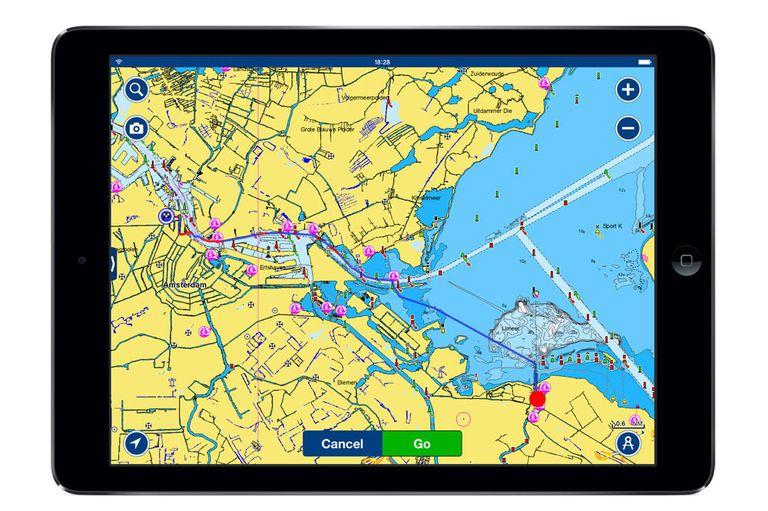 Navionics navigation app