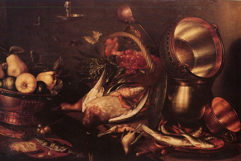 Cornelis Jacobsz Delff - Kitchen Still-Life
