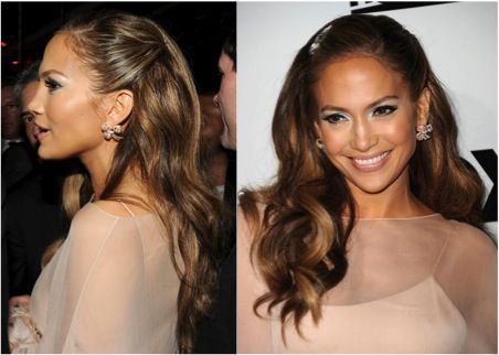 A Slideshow Of Pinned Back Hairstyles For Prom