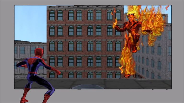 Screenshot of Ultimate Spider-Man on Gamecube