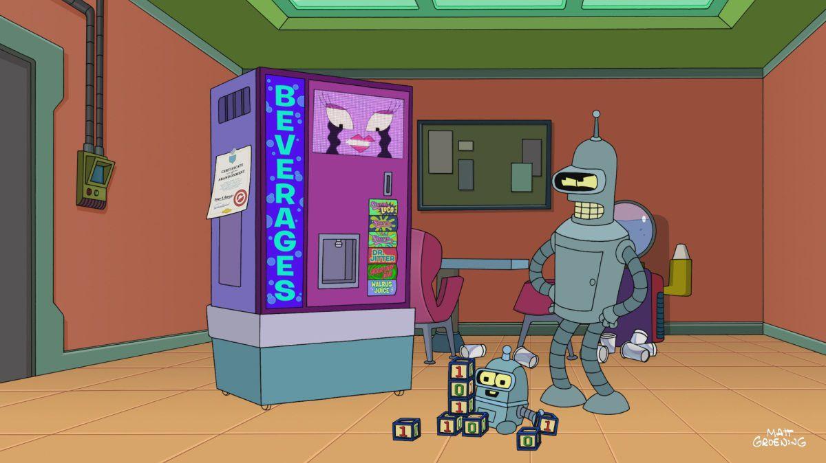 The Bots and the Bees - Futurama