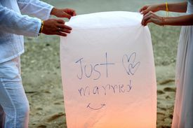 Couple With Lantern