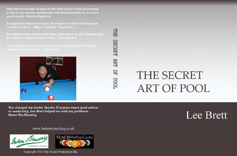 The Secret Art Of Pool - Lee Brett