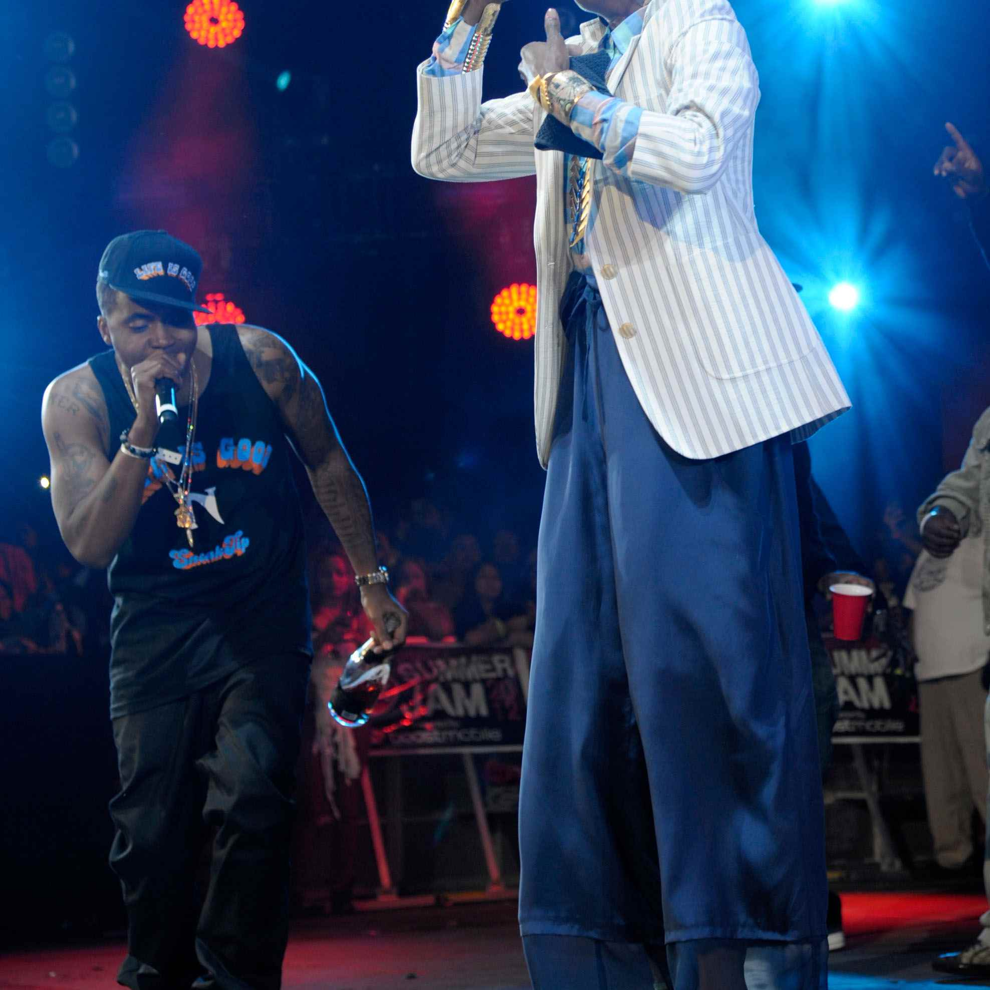 Nas and Lauryn Hill perform at HOT 97's Summer Jam 2012