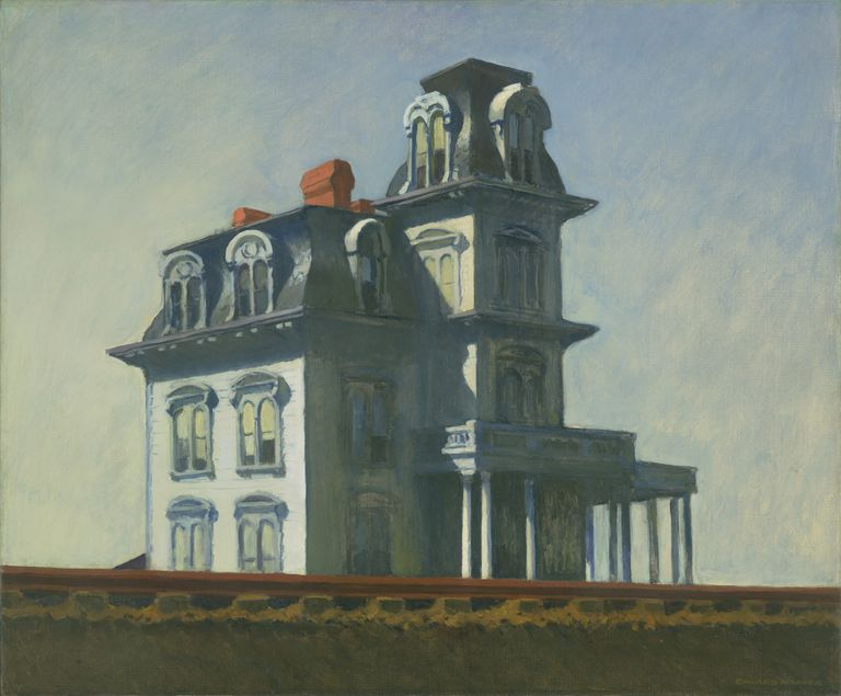 Edward Hopper, House by the Railroad, 1925