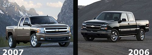 Chevy Silverado Truck of 2006 and 2007