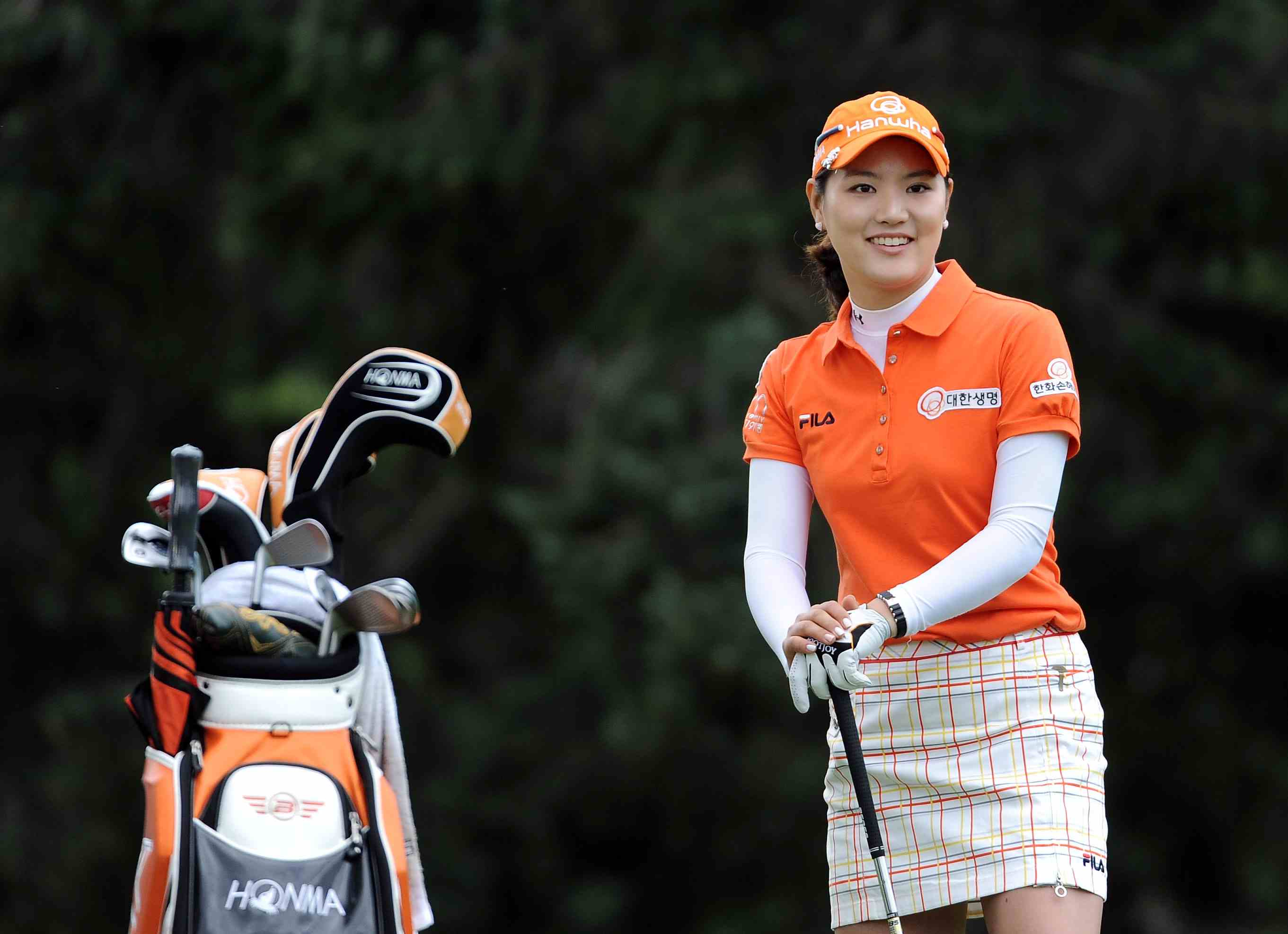 So Yeon Ryu pictured during the final round of the 2011 U.S. Women's Open.
