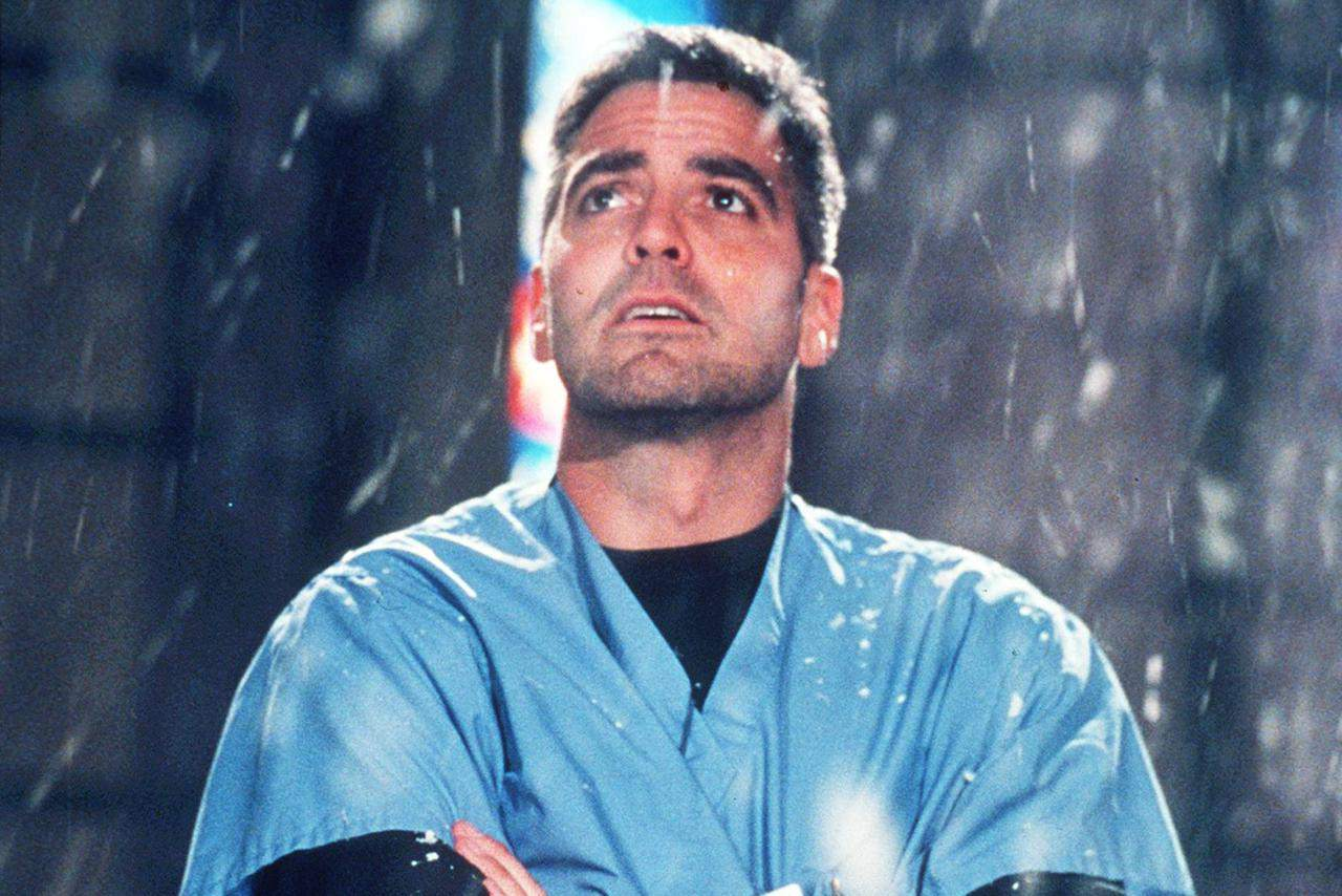 George Clooney Stars In Year 5 Of Er