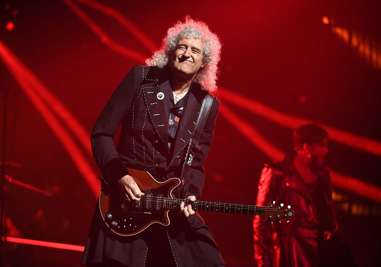 Guitarist Brian May of Queen