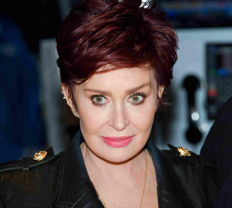 Talk show host Sharon Osbourne