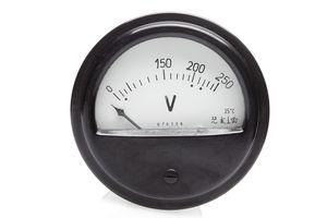 Voltmeter for boat