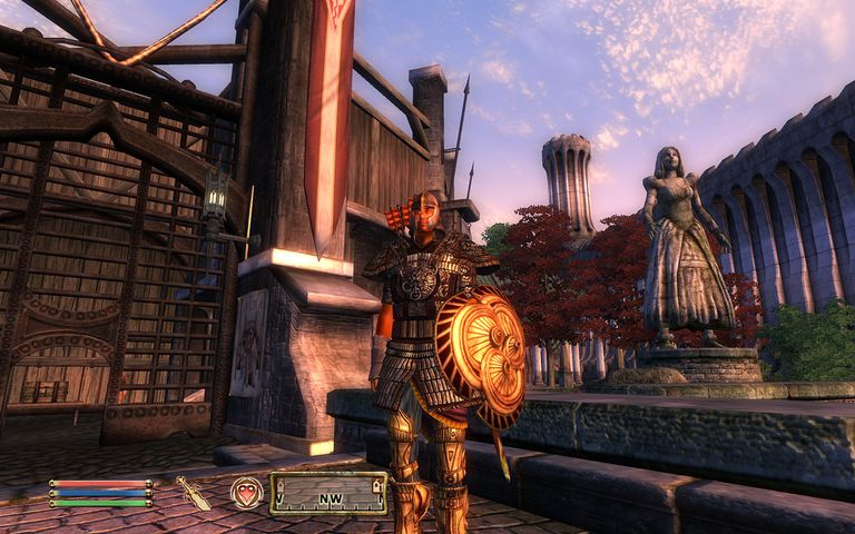 Elder Scrolls IV: Oblivion scene