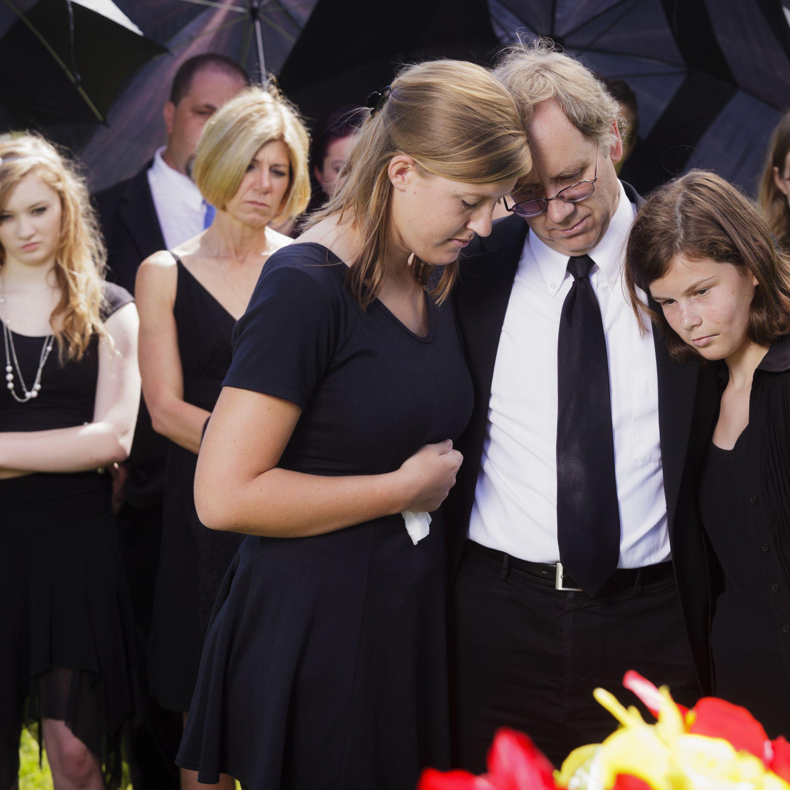 Widowed father raising daughter