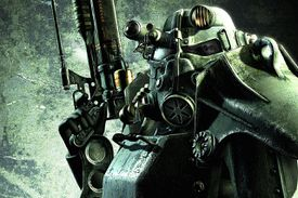 Future soldier from 'Fallout 3' video game