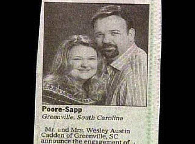 Poore-Sapp name combination