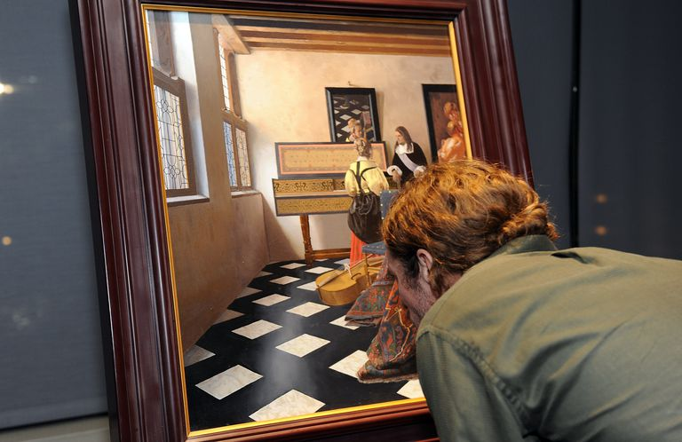 Vermeer painting used in the documentary