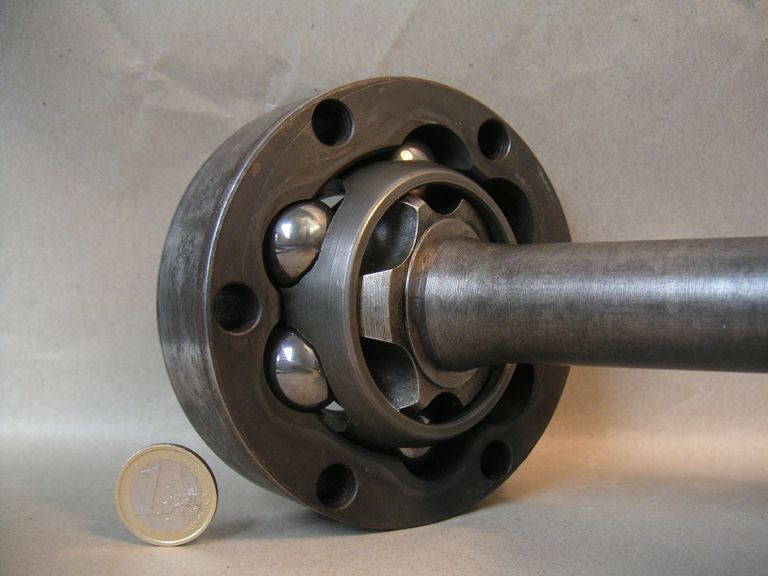 a typical constant velocity joint or CV joint
